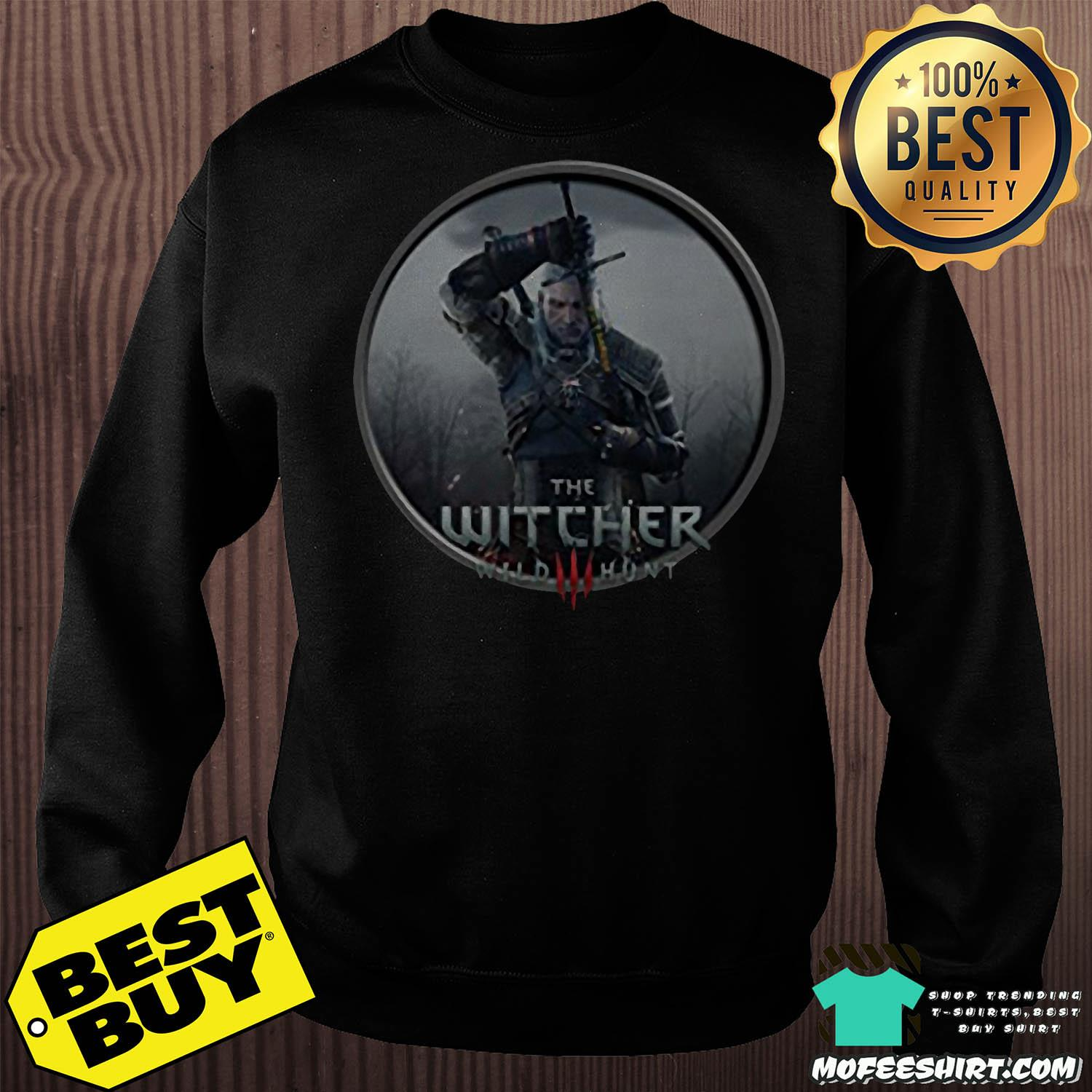 The Witcher 3 Wild Hunt Geralt of Rivia shirt