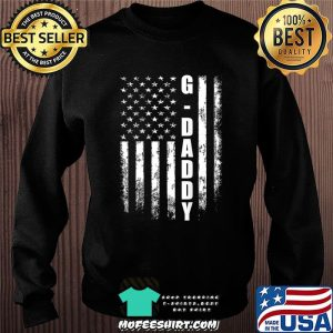 G-daddy Gift America Flag Christmas Gift For Men Father'day T-Shirt Sweater