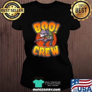 Boo Crew, Werewolf - Cute Matching Halloween Costume T-Shirt Ladiestee