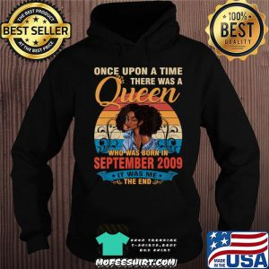 11 Year Old Birthday 11th Birthday Queen September 2009 T-Shirt Hoodie