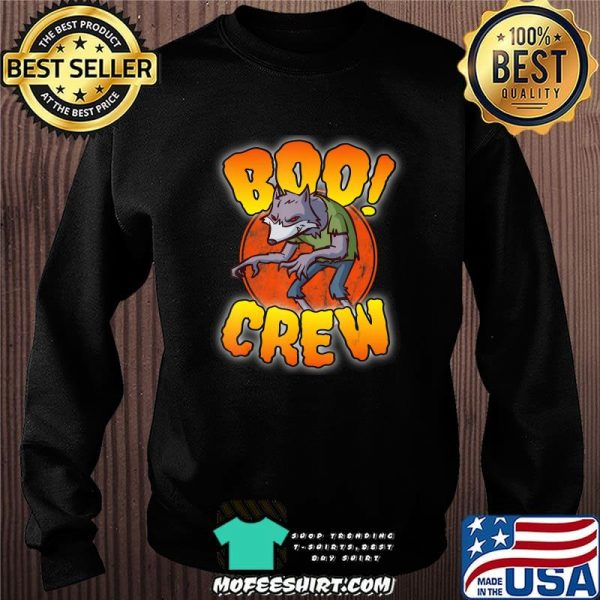 Boo Crew, Werewolf – Cute Matching Halloween Costume T-Shirt