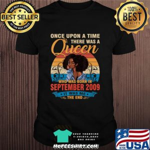 11 Year Old Birthday 11th Birthday Queen September 2009 T-Shirt