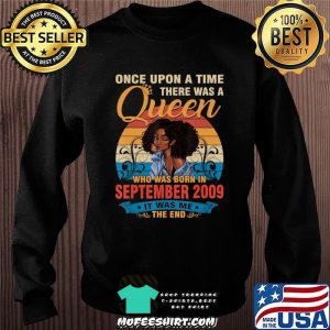 11 Year Old Birthday 11th Birthday Queen September 2009 T-Shirt Sweater