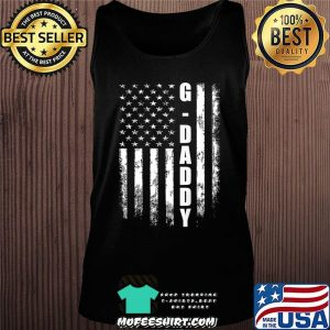 G-daddy Gift America Flag Christmas Gift For Men Father'day T-Shirt Tank top