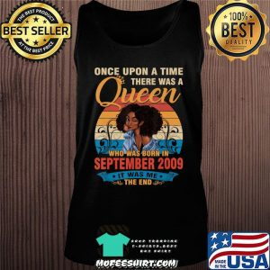 11 Year Old Birthday 11th Birthday Queen September 2009 T-Shirt Tank top