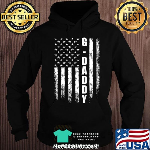 G-daddy Gift America Flag Christmas Gift For Men Father'day T-Shirt