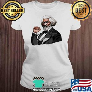 Frederick Douglass Black Fist Blm Shirt V-neck