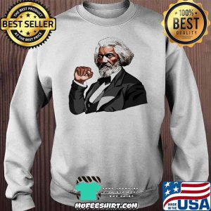 Frederick Douglass Black Fist Blm Shirt Sweater