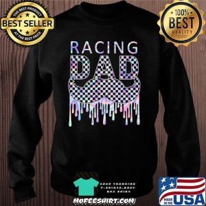 Racing Dad Father's Day Hologram Shirt Sweater