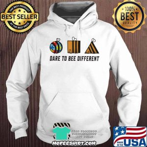 Dare To Bee Different Autism Shirt Hoodie