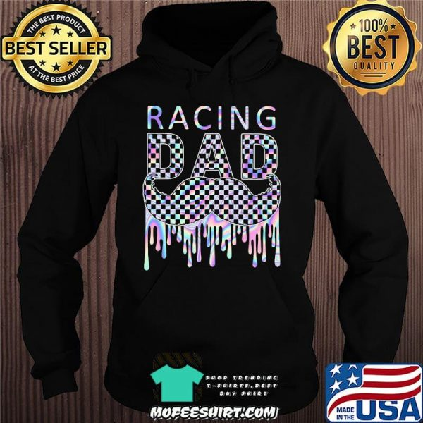 Racing Dad Father's Day Hologram Shirt