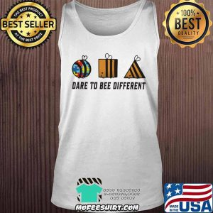 Dare To Bee Different Autism Shirt Tank Top