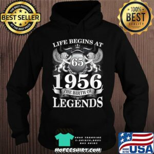 Life begins at 1956 the birth of legend lion s Hoodie
