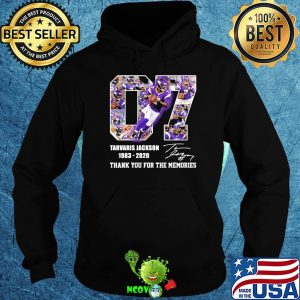 07 tarvaris jackson 1983 2020 thank you for the memories signature shirt