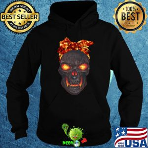 Lava skull bow fire shirt