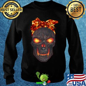Lava skull bow fire s Sweater