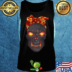 Lava skull bow fire s Tank top
