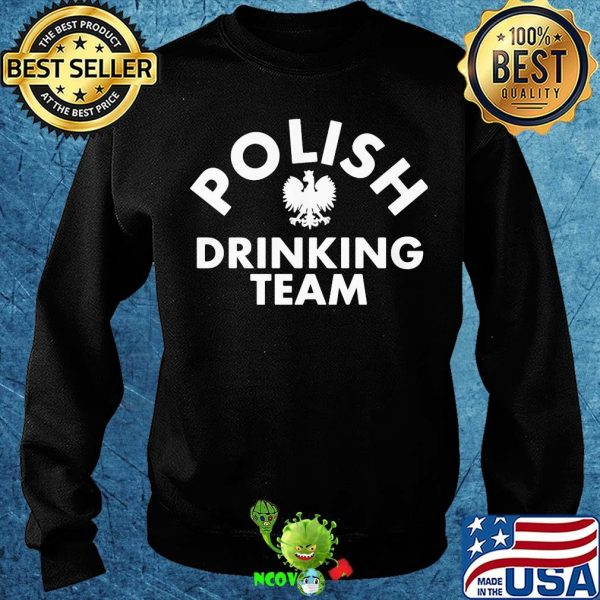 Official polish drinking team shirt