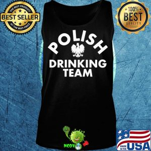 Official polish drinking team s Tank top