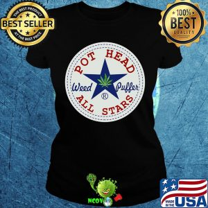 Official pot head weed puffer all stars s Ladies tee
