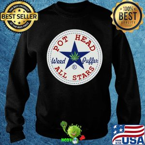 Official pot head weed puffer all stars s Sweater