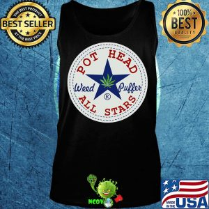 Official pot head weed puffer all stars s Tank top