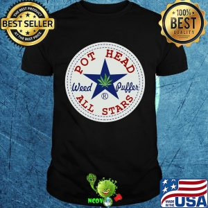 Official pot head weed puffer all stars shirt