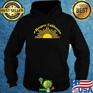 Official sunshine reopen california shirt
