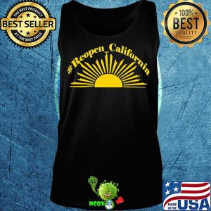 Official sunshine reopen california s Tank top