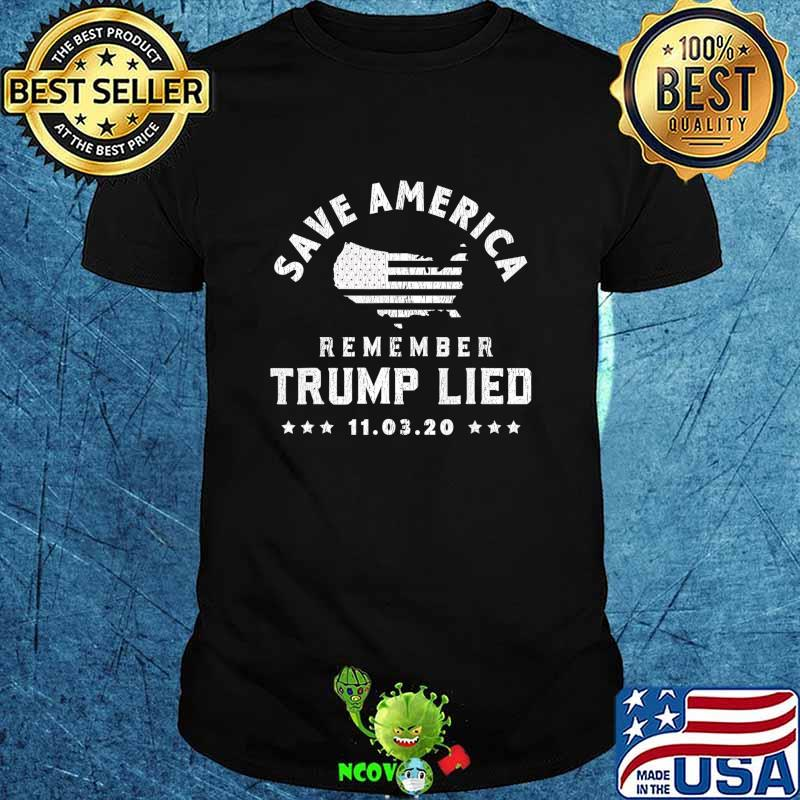 Remember Trump Lied People Died T-Shirt